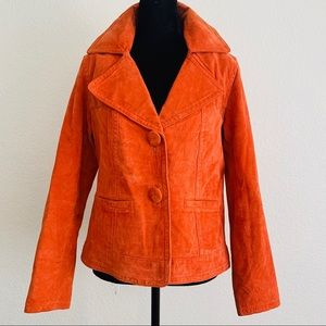 Chico's women's leather jacket size 0